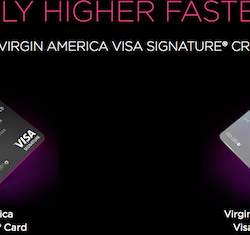 Virgin America Visa Signature Cards
