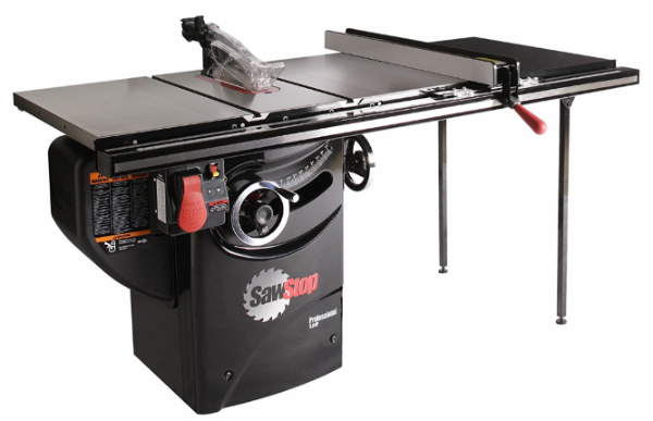 SawStop PCS31230-TGP236 3-HP Professional Cabinet Saw Assembly - front view