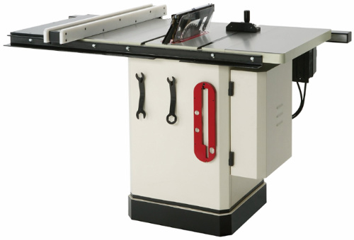 Shop Fox W1819 3 HP 10-Inch Table Saw with Riving Knife - storage